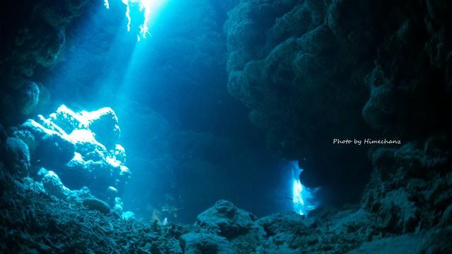 西表島に新しい洞窟ポイントできましたよ♪