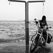 "#Messolongi today #Tourlida #TheGirl&TheHarley ""Wild horses couldn't drag me away..."" by nikosaliagas"
