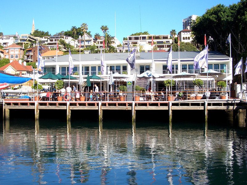 Rushcutters Bay sailing club