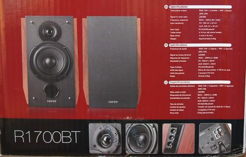 Edifier R1700 BT   kompiuterio audio sistema su bluetooth
