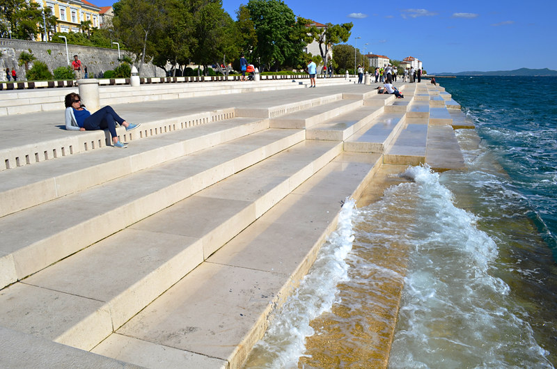 Sea Organ, old town, Zadar, Croatia