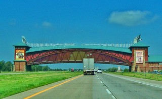 Kearney Nebraska ~ The Great Platte River Road Archway ~ Landmark