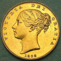 Smithson gold sovereign