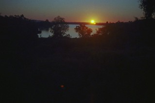 Lake Miramar Sunset Minox