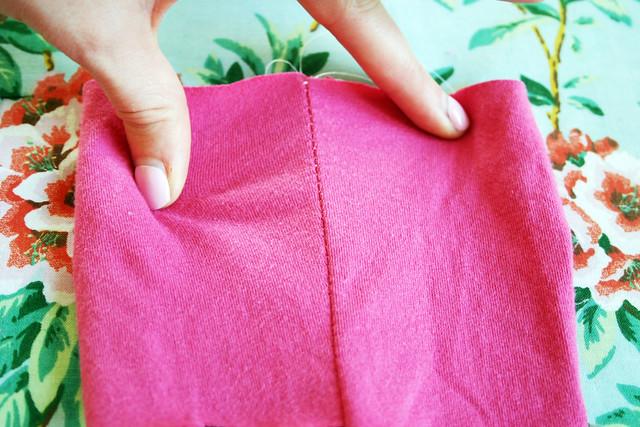 zigzag stitch seam stretch