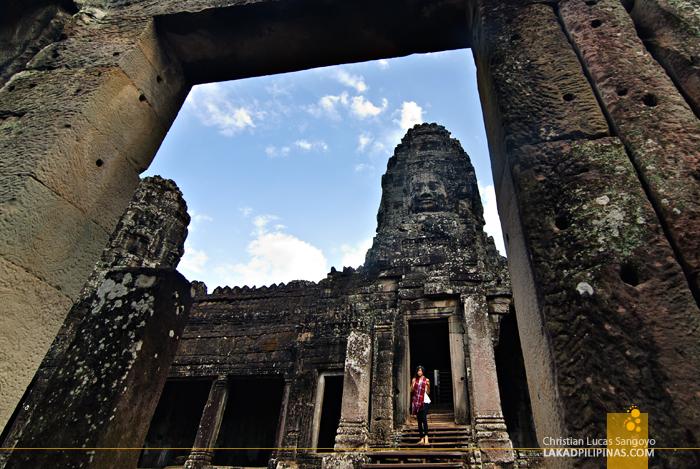 Bayon in Angkor Thom, Siem Reap