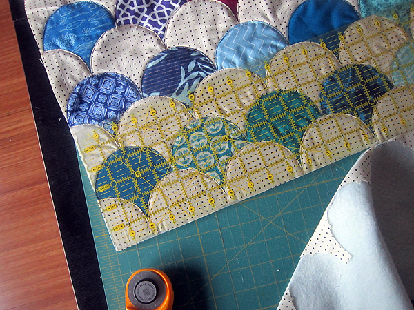 Clambake quilt-along... finishing!