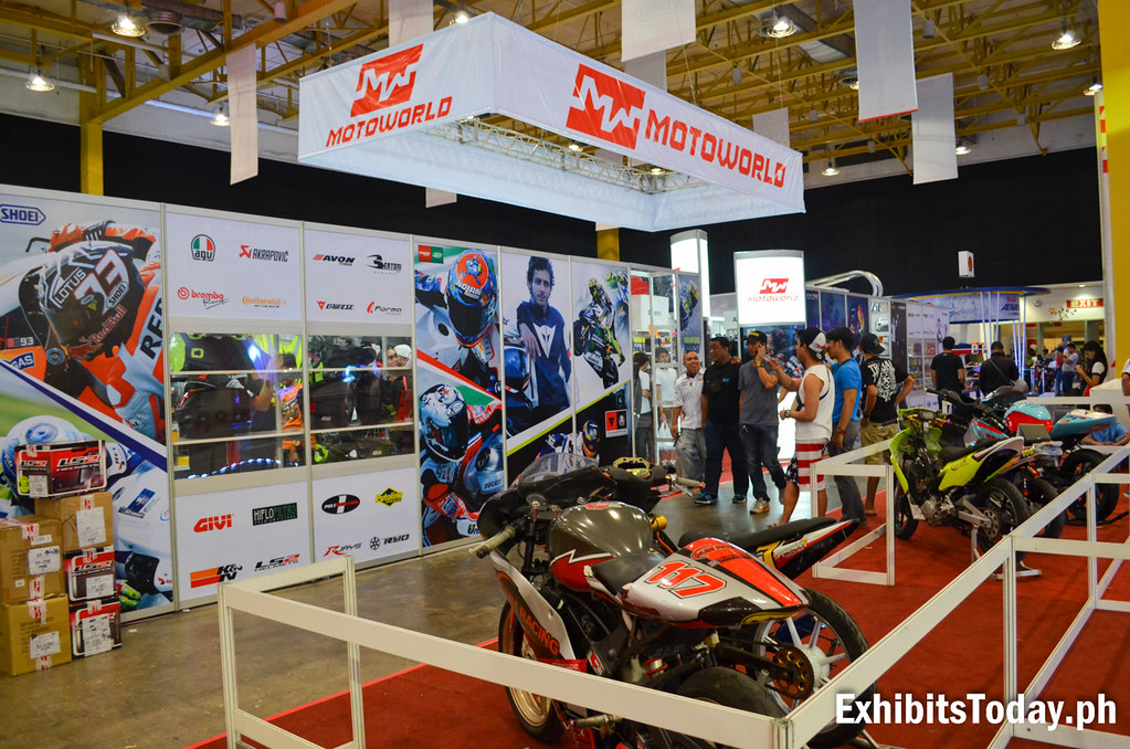 Motoworld Exhibit Booth