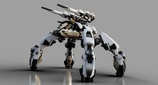 Gundam Chroma S3 Polaris Drone Tank (LDD Building Instructions)  by  Matt_one