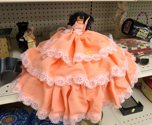 giant skirt doll