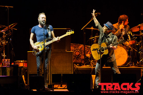 Sting and Paul Simon @ Hallenstadion - Zurich
