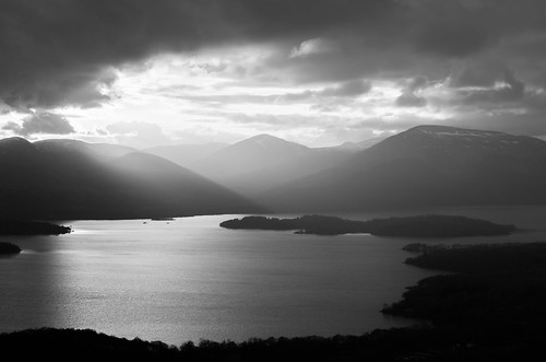 Lomond in the gloaming