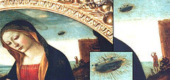 Mary Jesus and St. John - Uffizi gallery Florence Italy