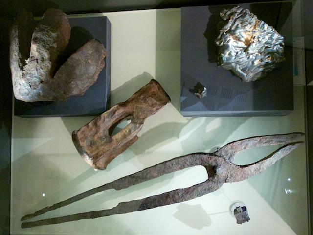 Bog iron, and the tools to produce it