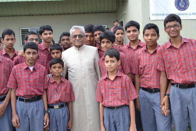 Businessman who enjoys establishing schools rather than building skyscrapers