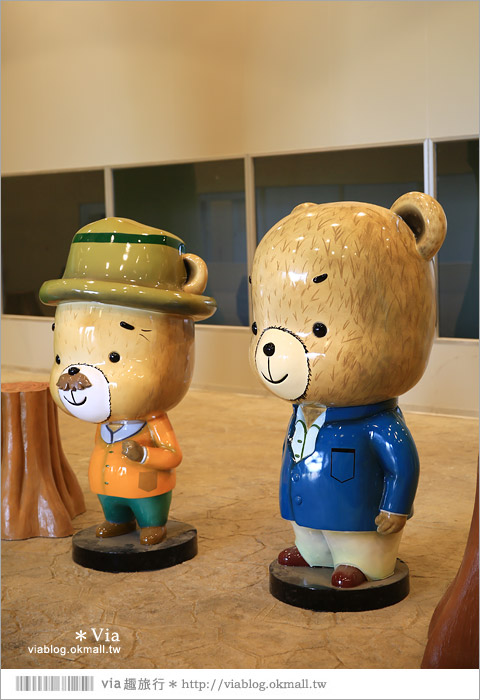 【熊大庄】嘉義民雄熊大庄森林主題園區~新觀光工廠報到!小熊的童話森林真實版26