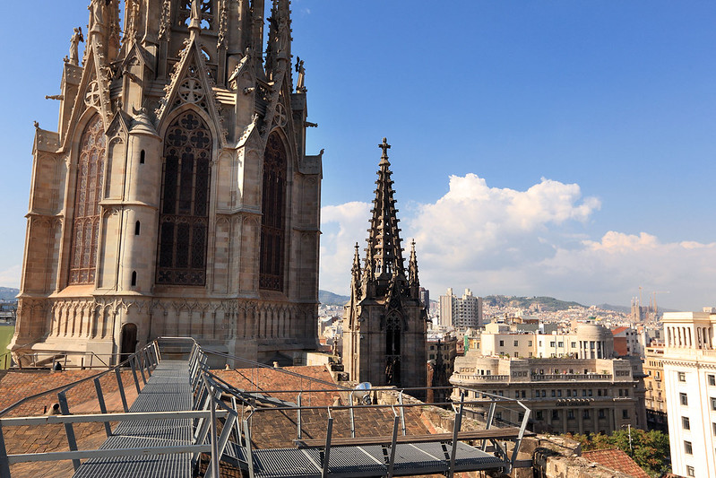 Catedral rooftop