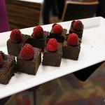 Wattle Seed, Raspberry, Chocolate Brownie Bites