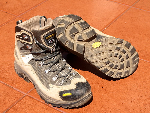 Asolo hiking boots from Decathlon