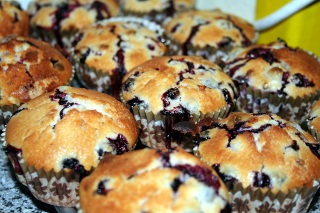Johannisbeer Buttermilch Muffins Foodfreak