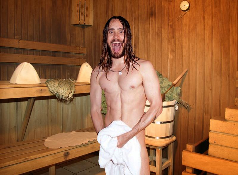 Женщины и мужчины без одежды в бане фото 212-536