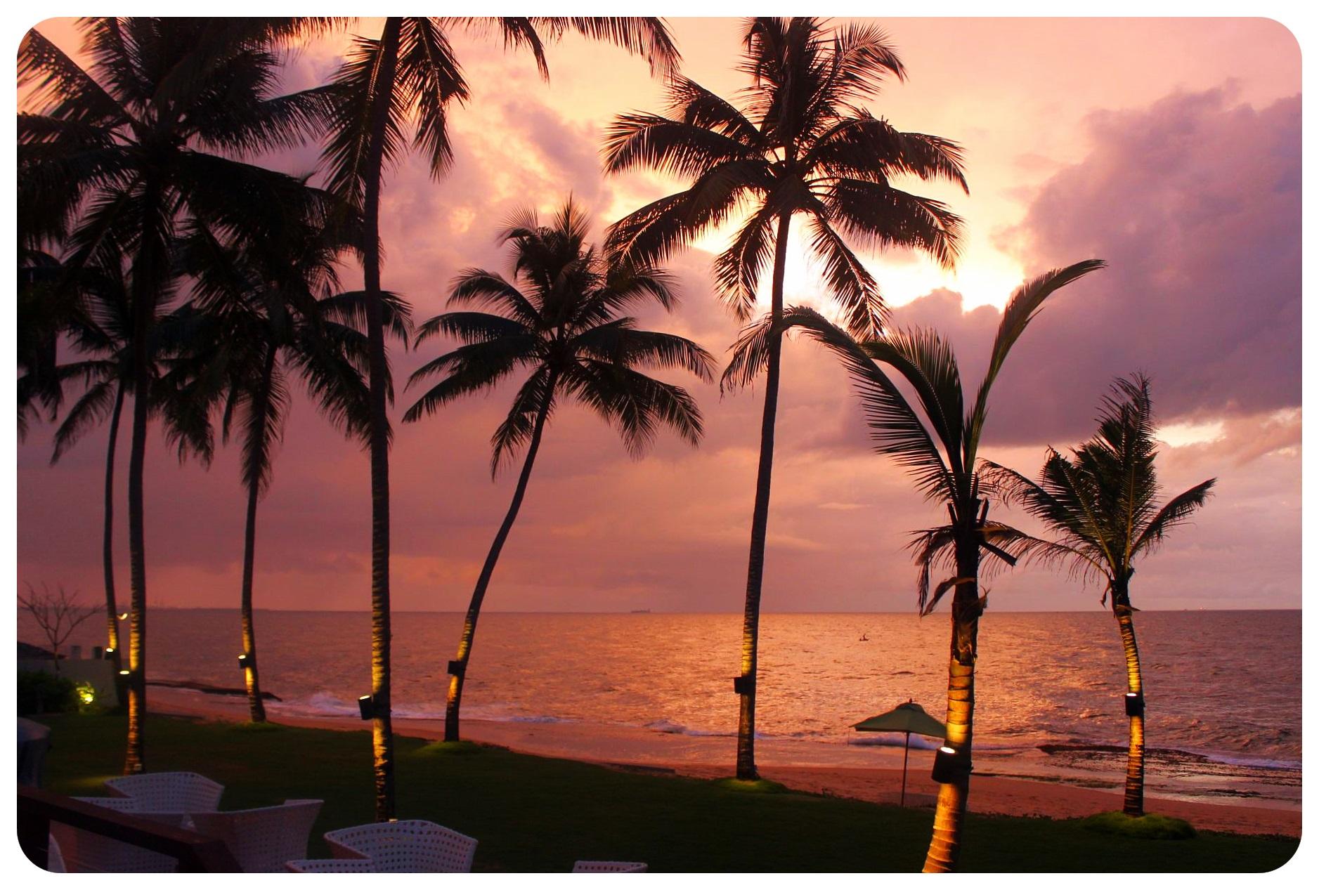 reefs edge hotel sunset