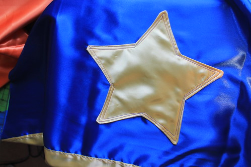 Applique Star Using Dryer Sheet Method