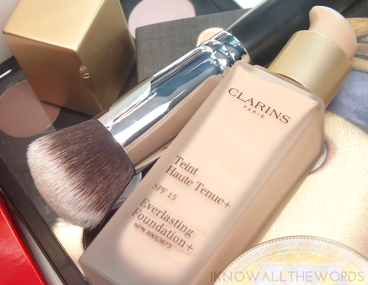Clarins everlasting foundation + 102.5 Porcelain (5)