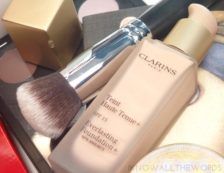 Clarins everlasting foundation + 102.5 Porcelain (5)