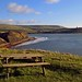 Kimmeridge picnic bench by Andrew Boxall