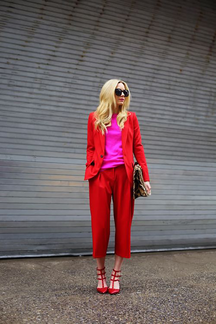 streestyle spring outfits bright colors04