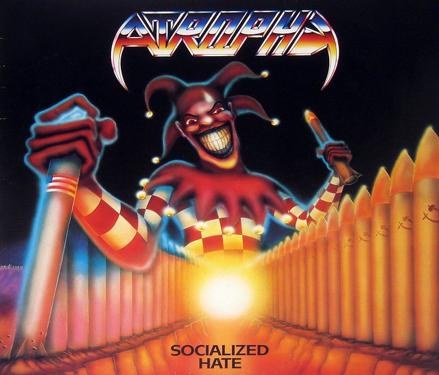"""Atrophy Socialized Hate 12"""" Vinyl LP"""