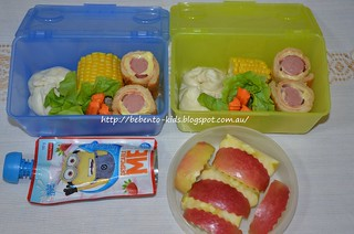Steamed Pork Buns Bento