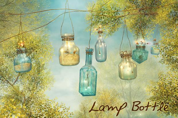 Lamp bottle POP