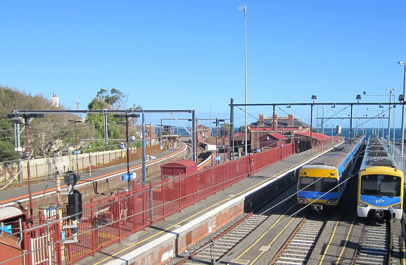 Brighton Beach station, April 2015