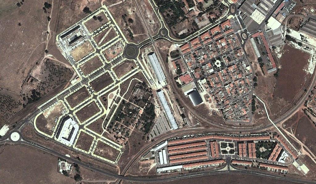 aldea de moret, cáceres, jaleo tenemos en cáceres, después, urbanismo, planeamiento, urbano, desastre, urbanístico, construcción, rotondas, carretera