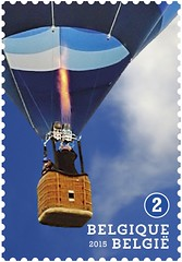 16 Luchtballonnen zegel D