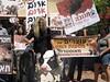 הפגנה נגד זהבית מנכלית תנובה 2011