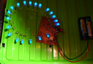 testing with LED string