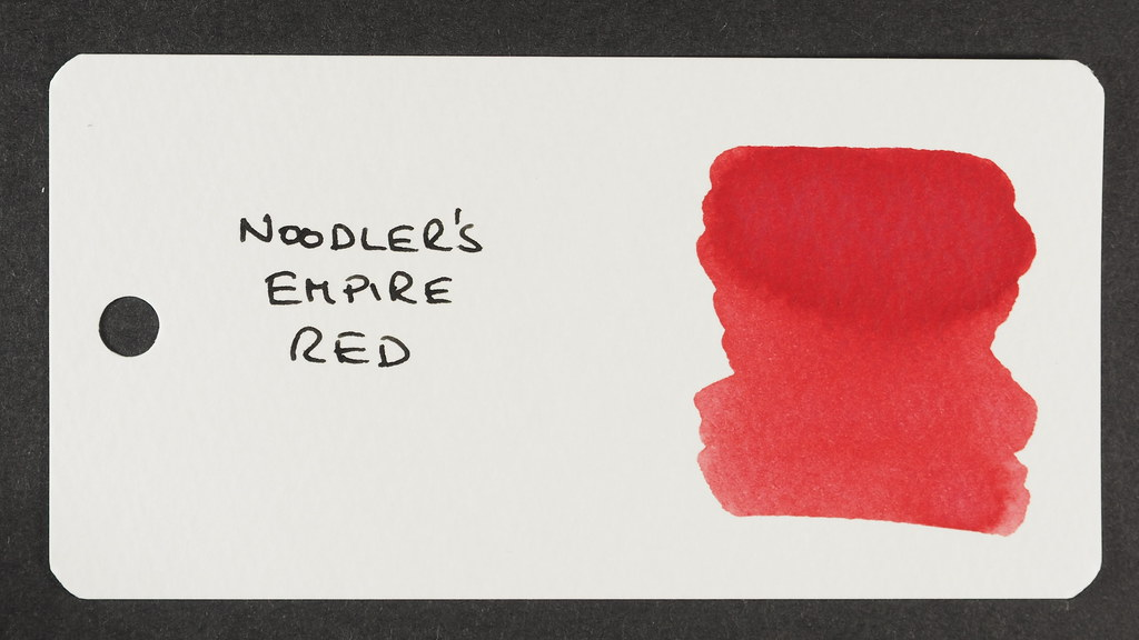 Noodler's Empire Red - Word Card