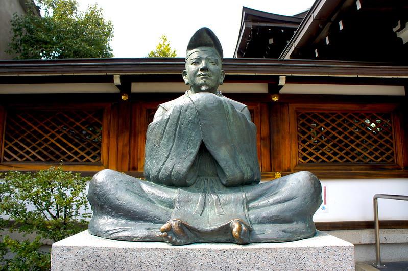 安倍晴明公像/晴明神社(Seimei-jinja Shrine / Kyoto City) 2015/03/12 04769