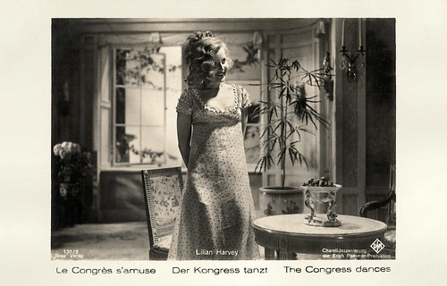 Lilian Harvey in Der Kongress Tanzt (1931)