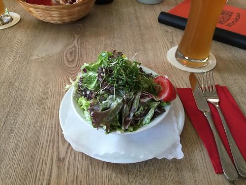 Salad dish / Salatteller - 's Truderinger Wirtshaus - München
