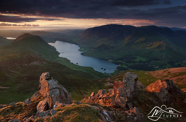 Crummock Water from Red Pike