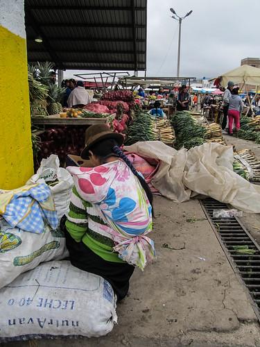 Saquisili: marché indigène