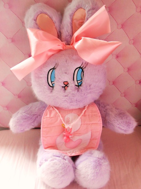 Esther Loves You Purple Bunny