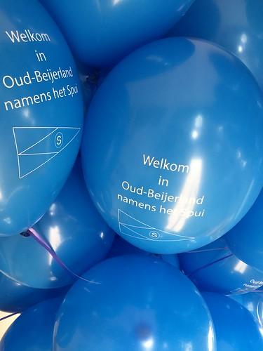 Heliumballonnen Bedrukt Spuidagen Oud Beijerland