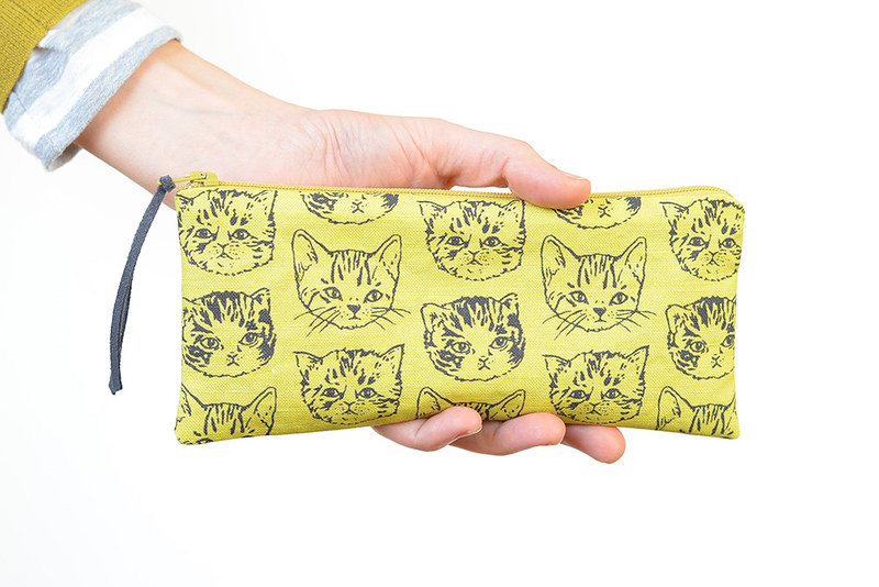Cute Cat Pencil Pouch