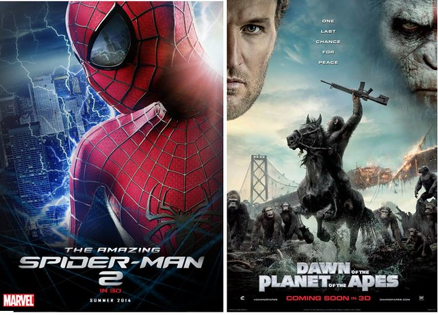 2 Spider Man 2 & Dawn of Planet of the Apes