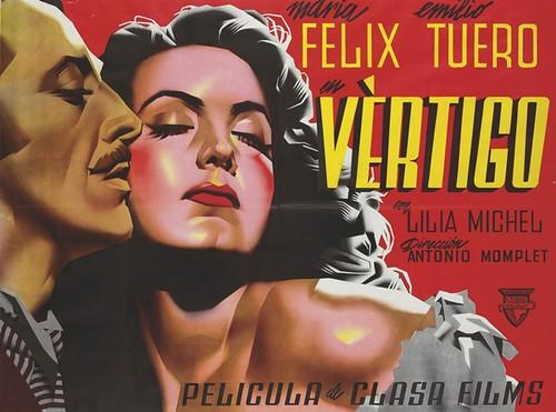 Cartell per al film 'Vértigo', Josep Renau